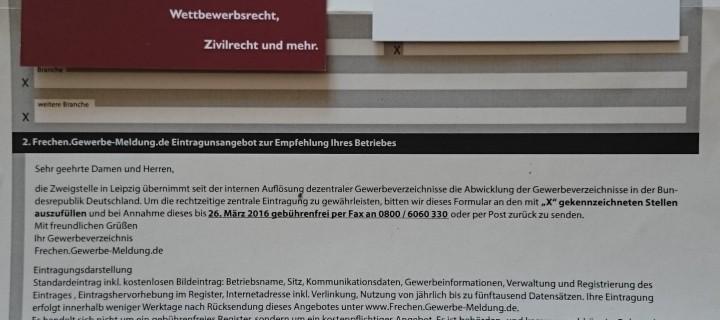 Gewerbe-Meldung.de & Europe Reg Services